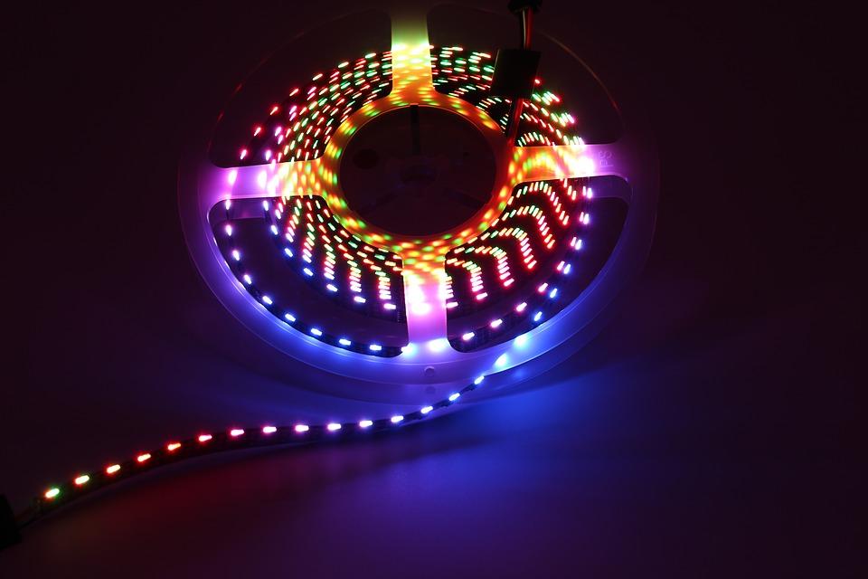 LED pásiky, kotúč