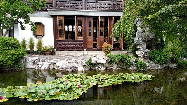 čínská zahrada